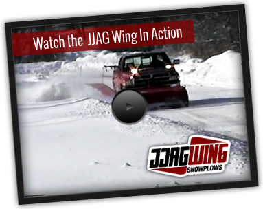 Snow Plow Distributor | JJAG Wing Snow Removal Business, Auburn, NY